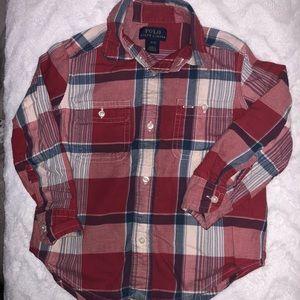 Ralph Lauren Flannel Button Up